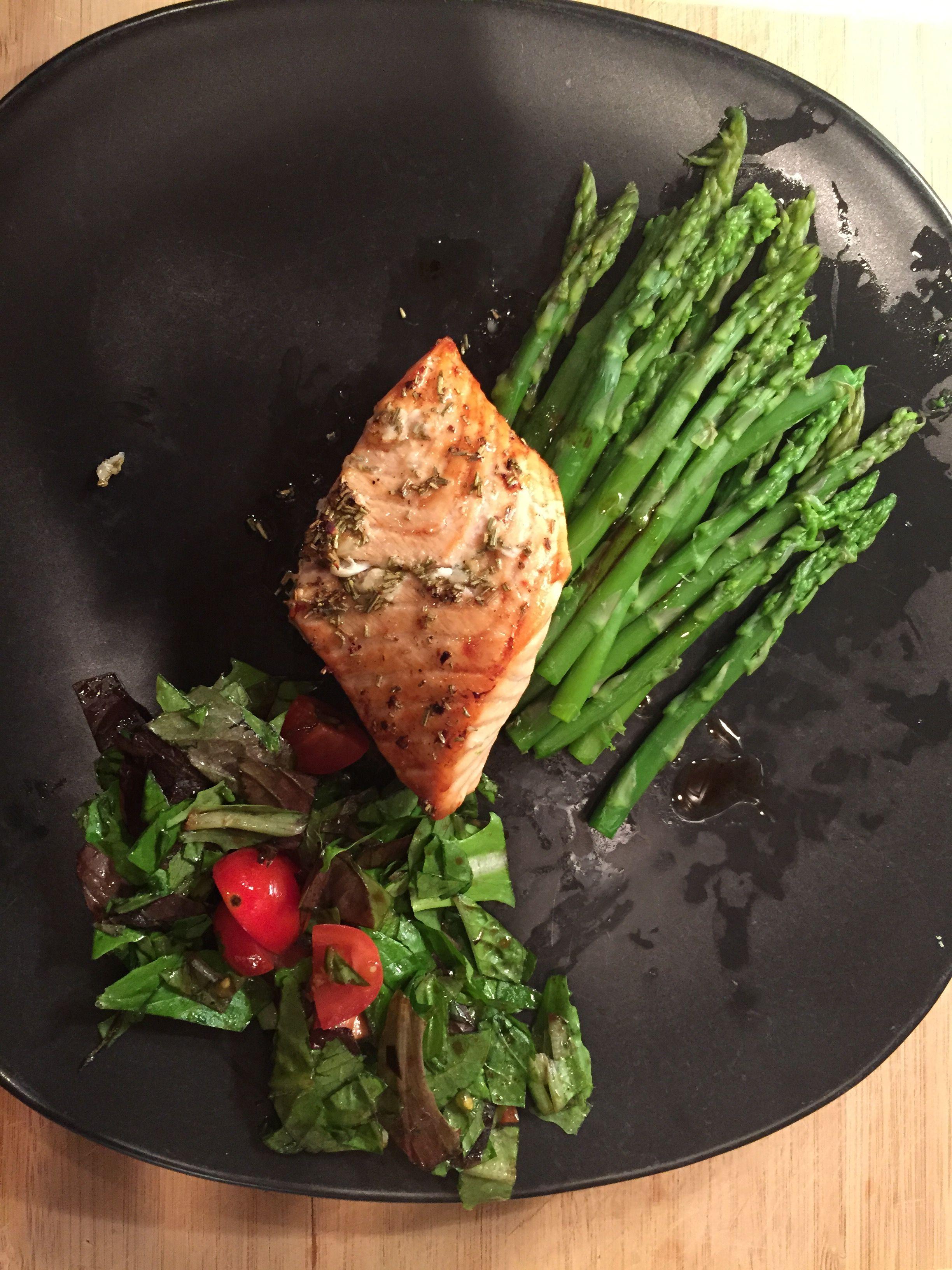 south beach diet rosemary salmon recipe