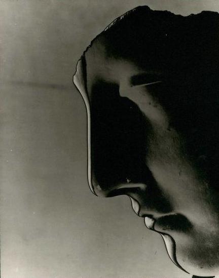 Erwin Blumenfeld Profile of Plaster Cast 1943