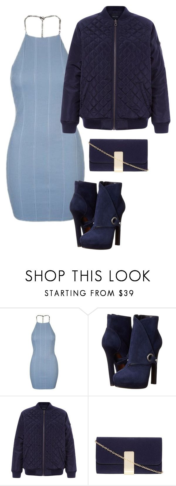 """Untitled #47"" by tasneemkm ❤ liked on Polyvore featuring Topshop, Alexander McQueen, New Look and Dorothy Perkins"