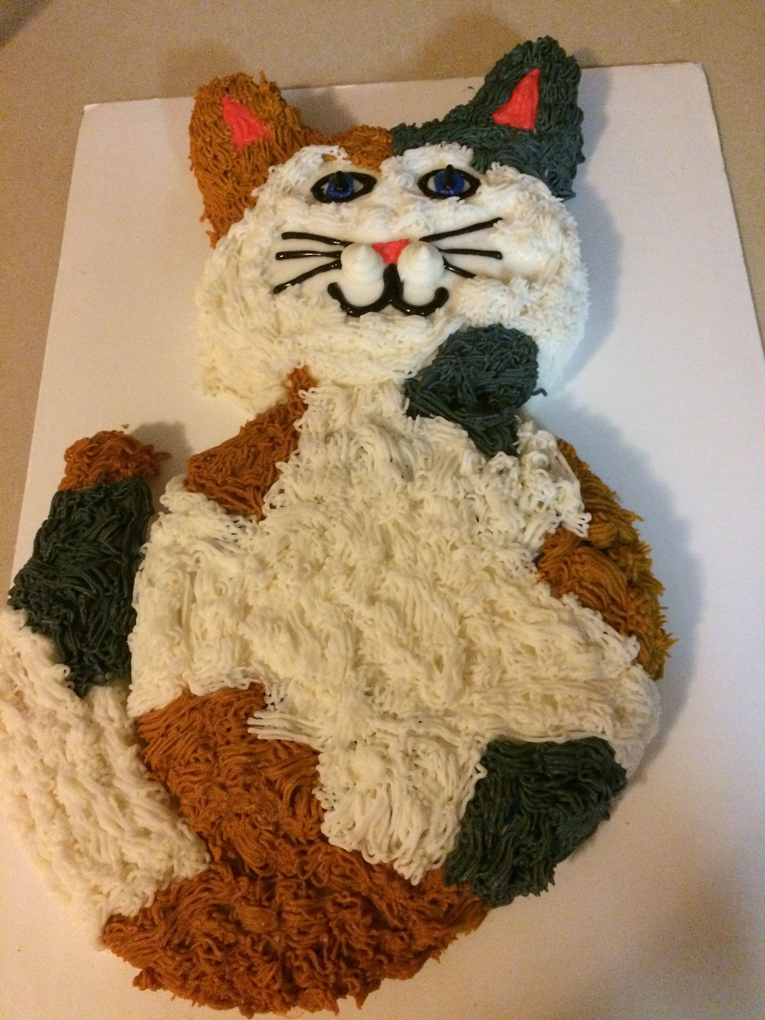 Calico Cat Cake Cat Cake Cat Cupcake Cake Cat Cupcake