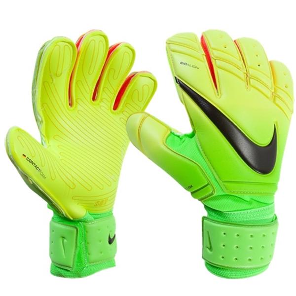 Nike Gk Premier Sgt Goalkeeper Glove Volt Green Goalkeeper Gloves Goalkeeper Gloves