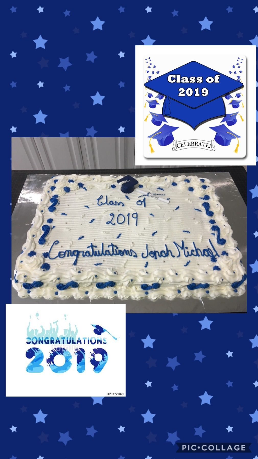 Graduation cake electronic products bath mat