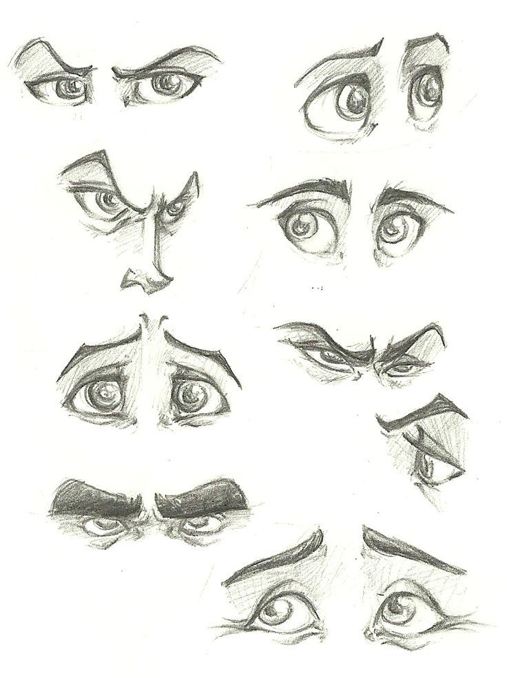 Image Result For Examples Of Easy To Draw Eyes Illustrations