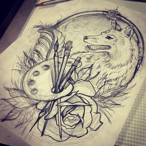 clock drawing tumblr. Black Bedroom Furniture Sets. Home Design Ideas