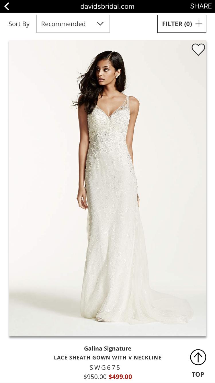 Galina signature wedding dress  Pin by Kaylin Kendrick on Wedding  Pinterest  Wedding
