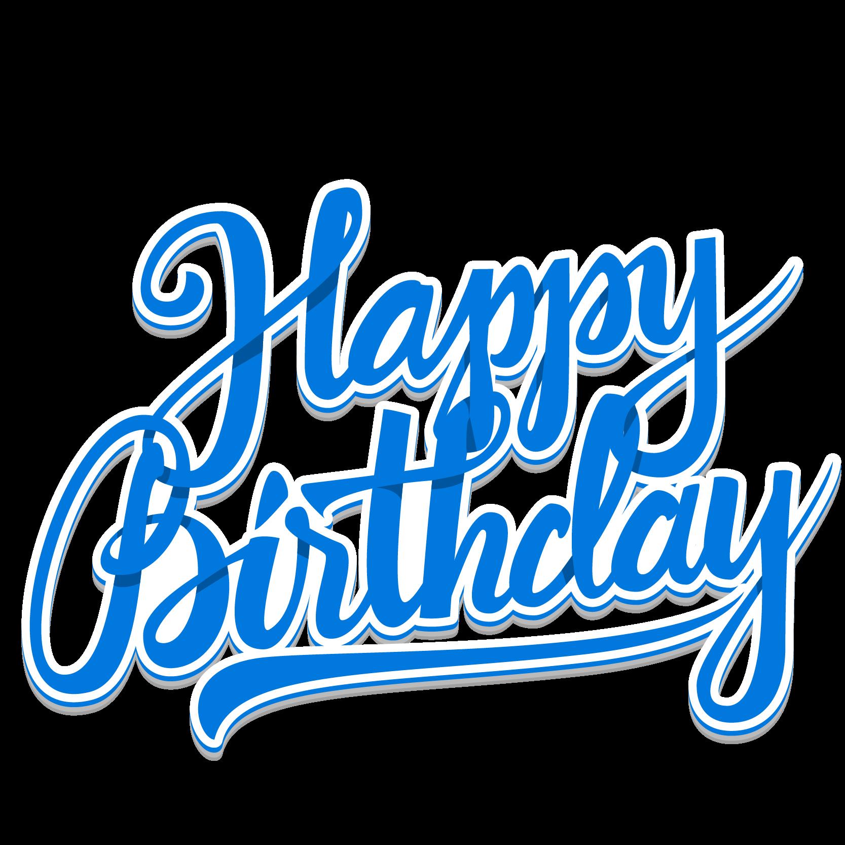Birthday Drawing Clip art Happy Birthday Transparent PNG