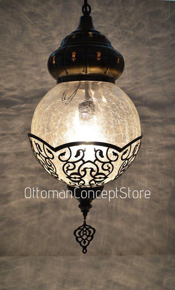 Main Ottoman Éclairage Style Lampe Marocain Fait Suspension Turc bf6vy7Yg