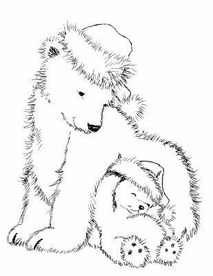 Polar Bears | crayola.co.uk | 400x309