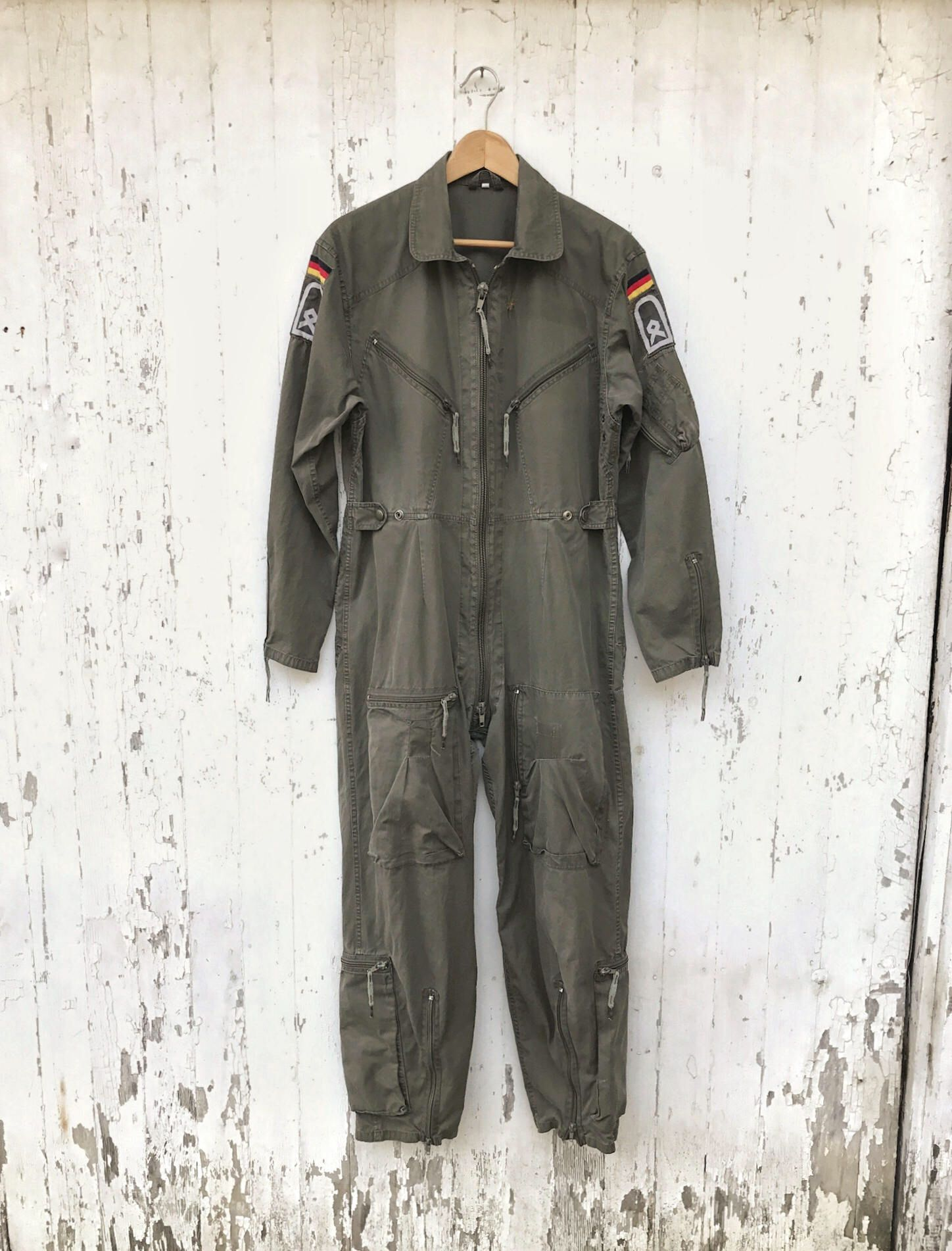 c4ac7dde6d150 Military Coveralls Jumpsuit Flight Suit Sz Small German Army Vintage by  HuntedFinds on Etsy https: