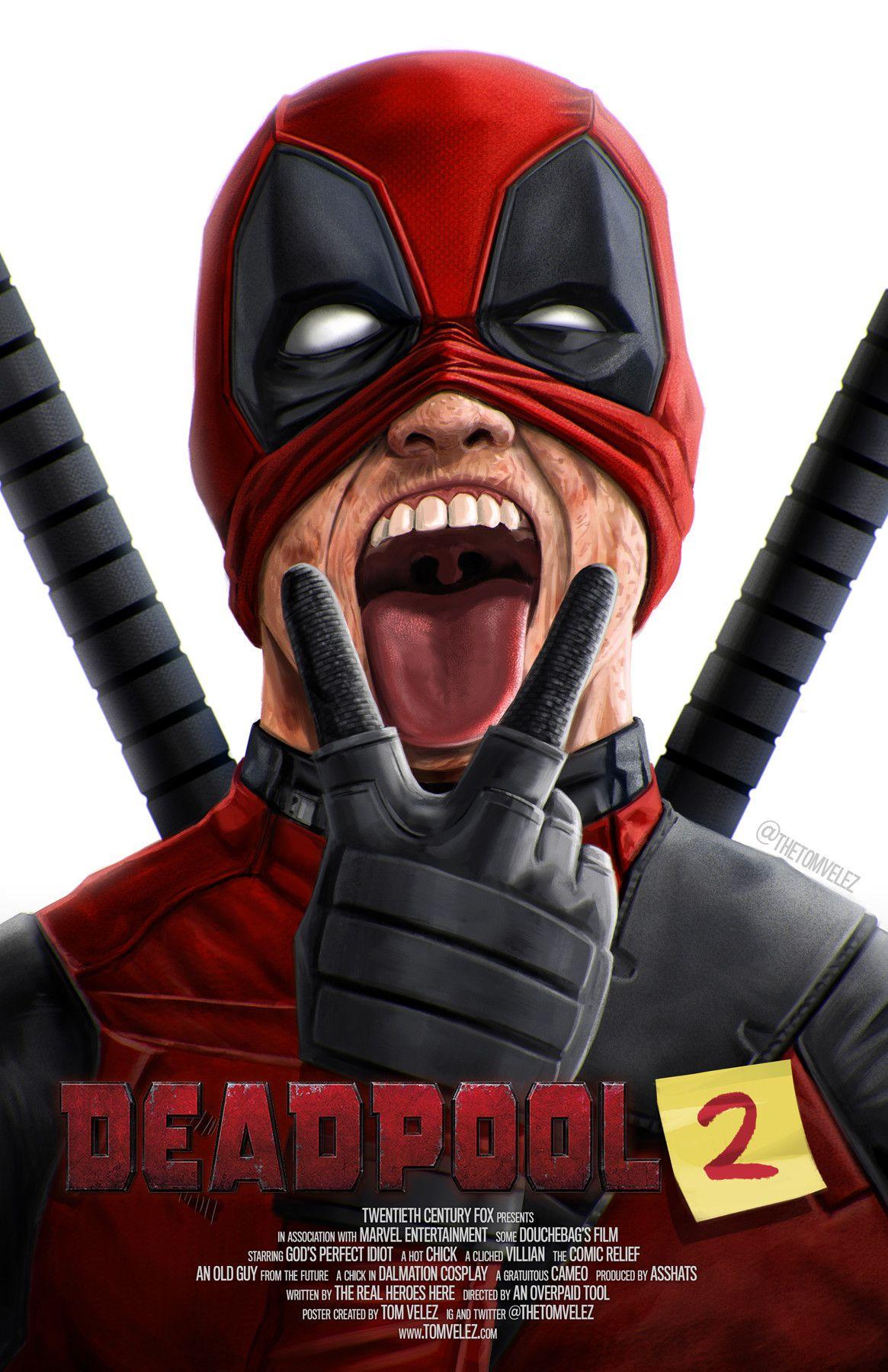 Deadpool 2 Tom Velez Deadpool Deadpool 2 Movie Deadpool Jokes