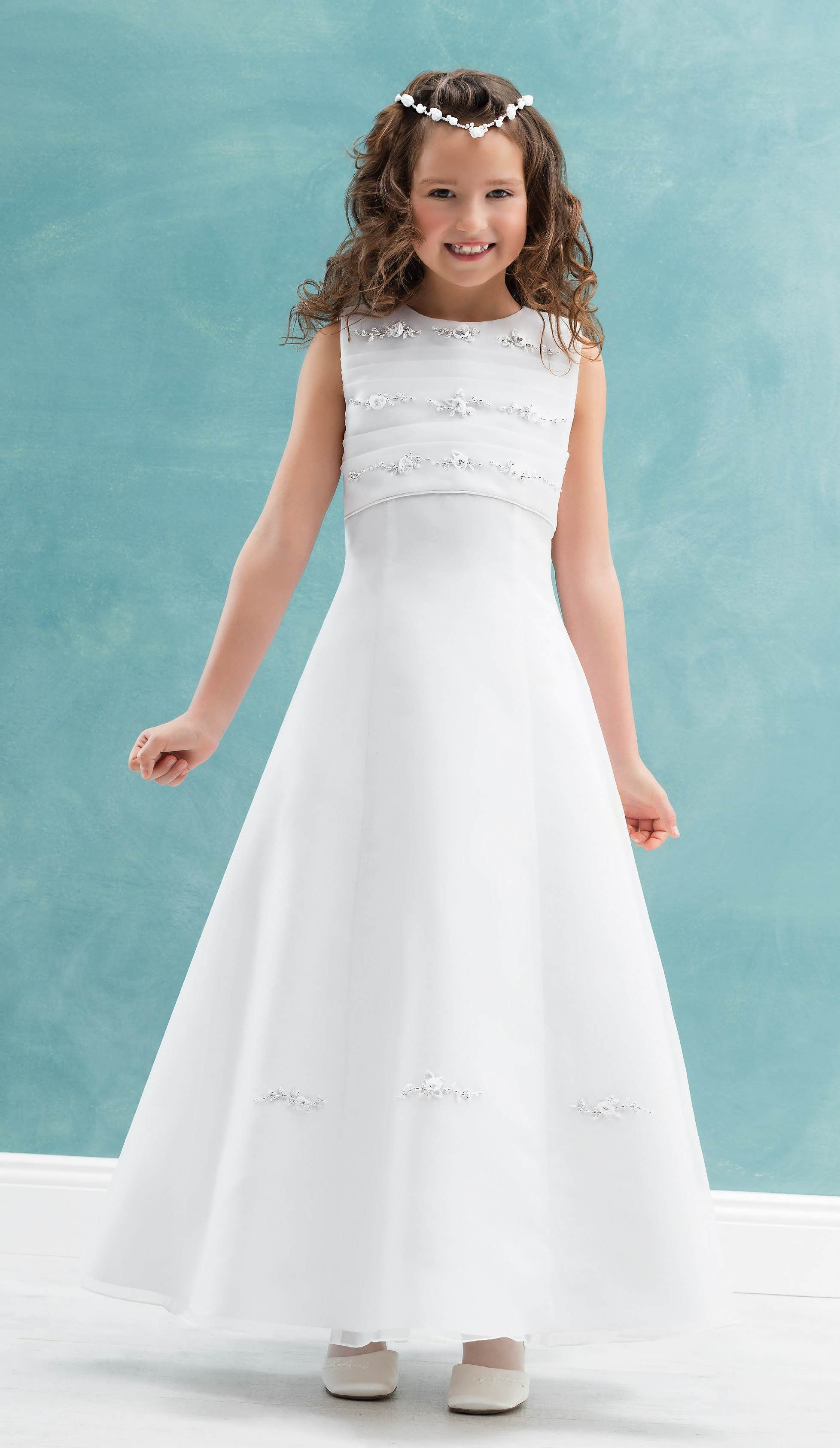 The delightful CARMEN communion dress, with oh so cute ...