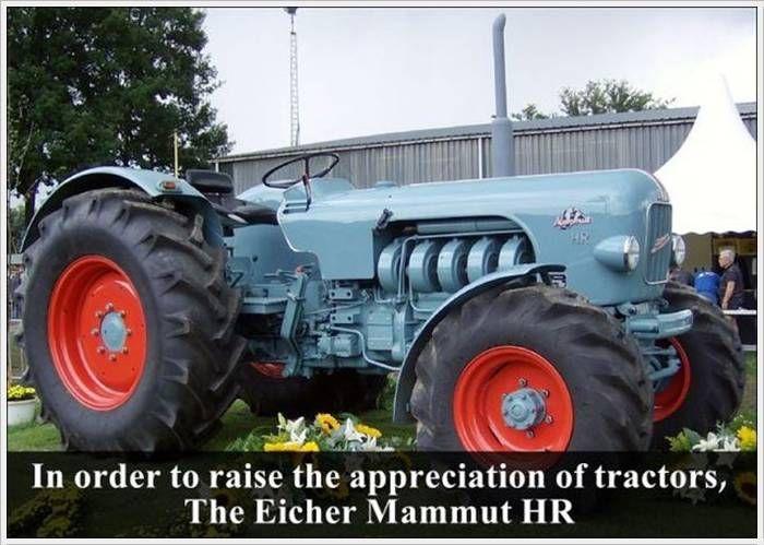 eicher mammut tractor man made machines pinterest. Black Bedroom Furniture Sets. Home Design Ideas