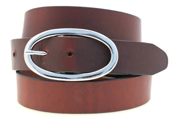 Women's 1 1/4 Chestnut Show Harness Hip Or by OrionLeatherCompany