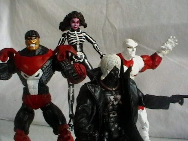 these are the marvel legends Four Horsemen (Apocalypse