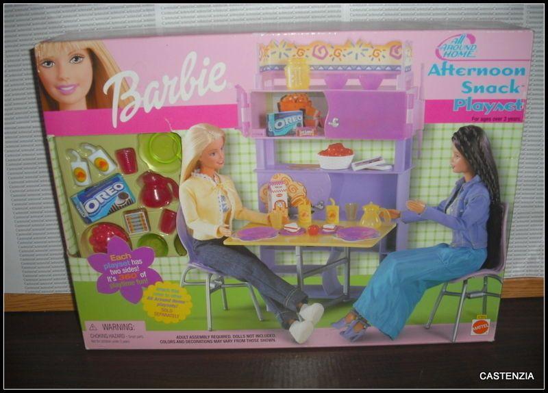 Poupées Vintage 1987 MATTEL BARBIE DOLL Arco salon de coiffure