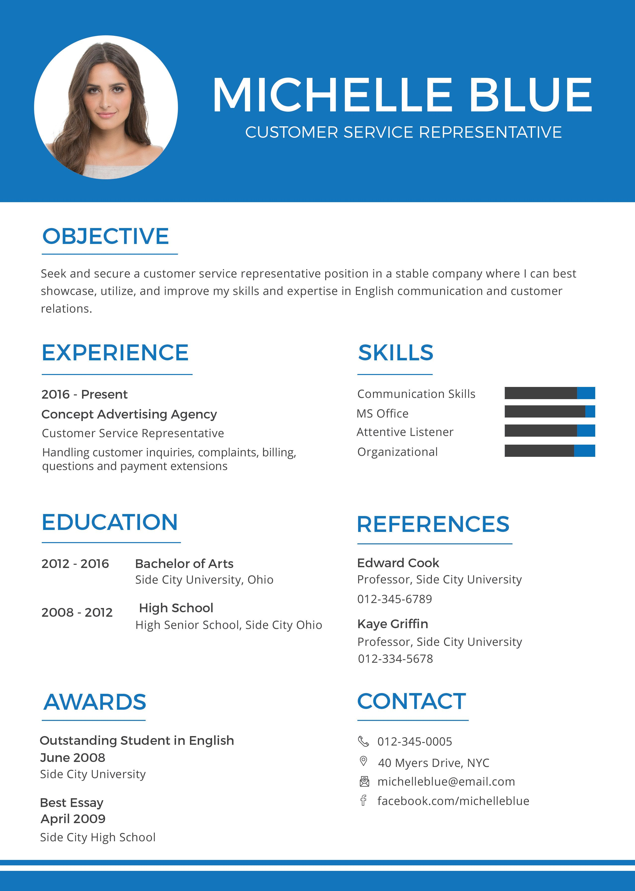 Resume Services Nyc Enchanting Free Customer Service Representative Resume Format  Pinterest .