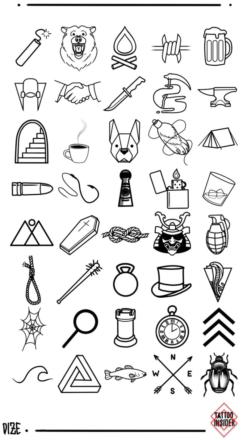 160 Original Small Tattoo Designs Tattoo Insider Cool Small Tattoos Small Tattoo Designs Small Tattoos For Guys