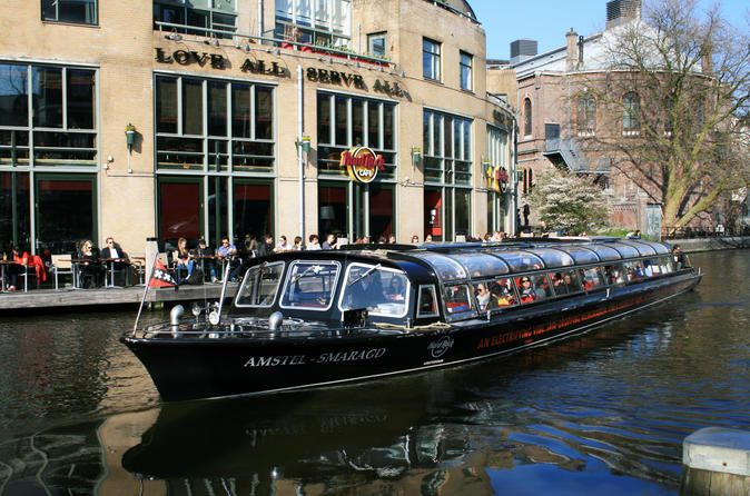 Hard Rock Cafe Burger Cruise In Amsterdam Join The One And Only Hard Rock Burger Cruise In The World Enjoy A 90 Minute Cruise Through The Canals Amsterdam Tours