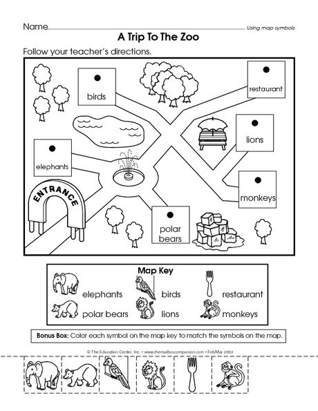 Placeholder Social Studies Maps Kindergarten Social Studies