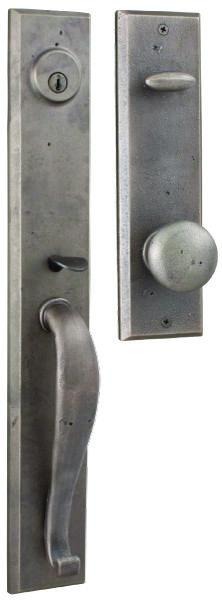 Weslock Rockford Handleset   For The Tackroom Door With The Carlow Lever  Option For The Inside. Front Door HandlesFront Door HardwareRustic ...