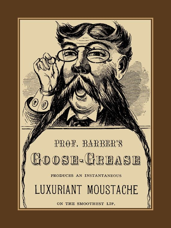 Mens Gift, Vintage Bathroom Wall Art, Retro Mustache Shaving ...