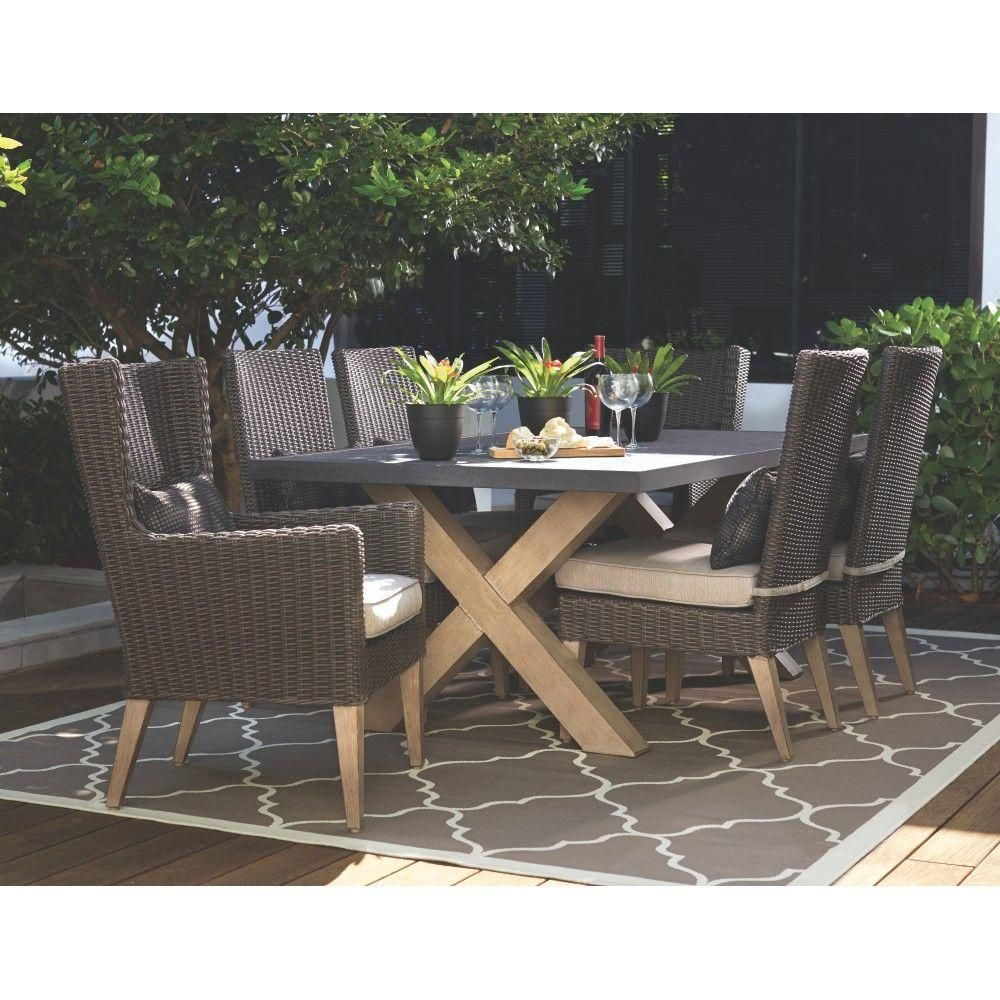 Home decorators collection naples brown allweather wicker