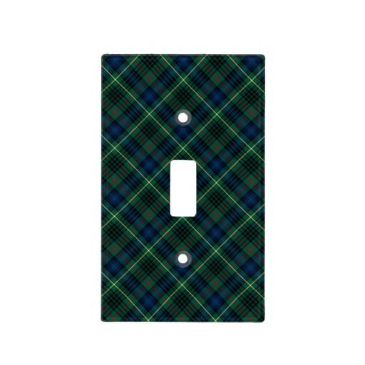 $13.70 Clan Stewart Hunting Tartan Switch Plate Covers
