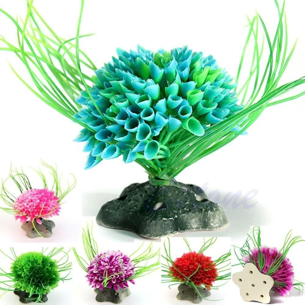 Visit to buy artificial water green plant grass for aquarium fish