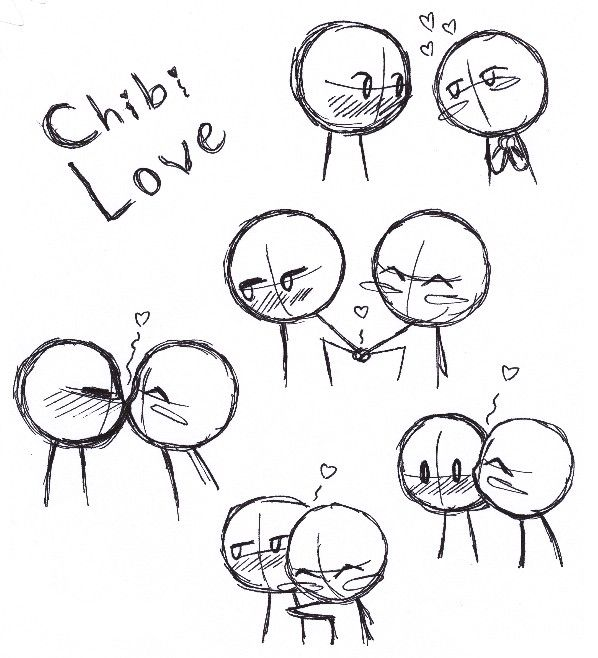 Chibi Love Drawings Chibi Drawings Art