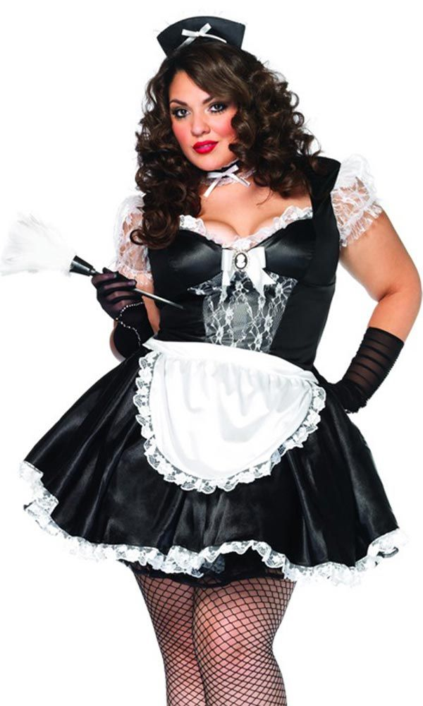 Sexy Maid - Plus Size Halloween Costumes  Pams Board -7020