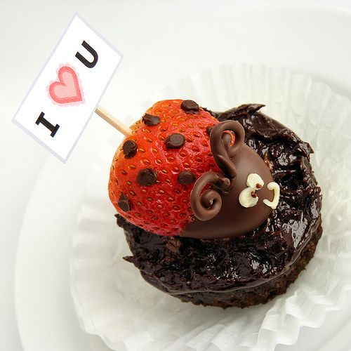 strawberry ladybug :)