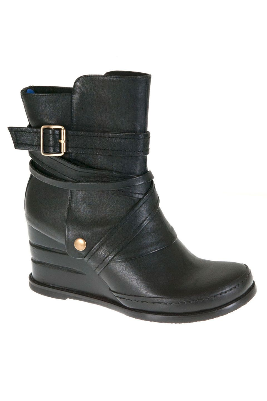 Miz Mooz Beverly Wedge Bootie In Black My Style