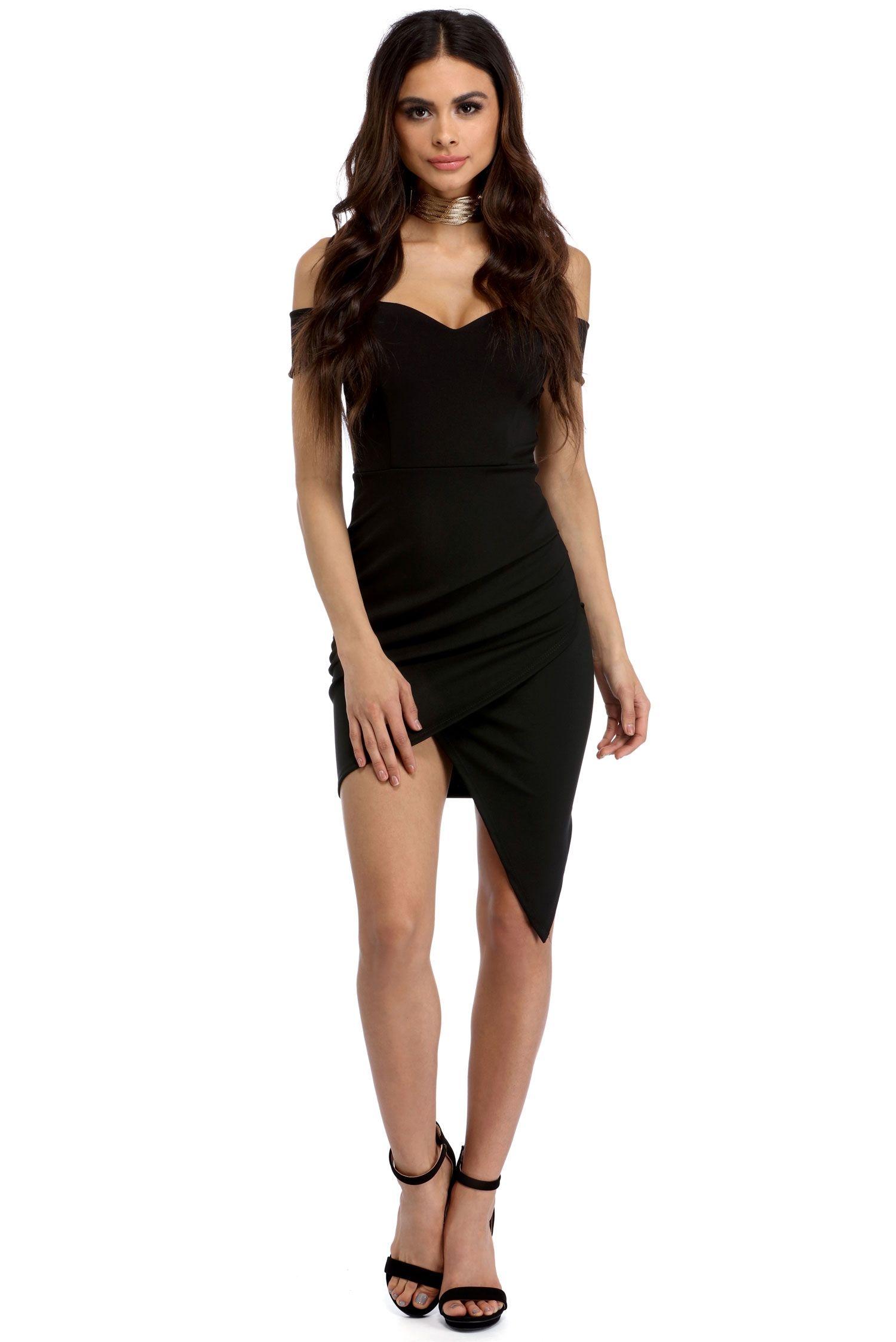 Black All Night Mini Dress