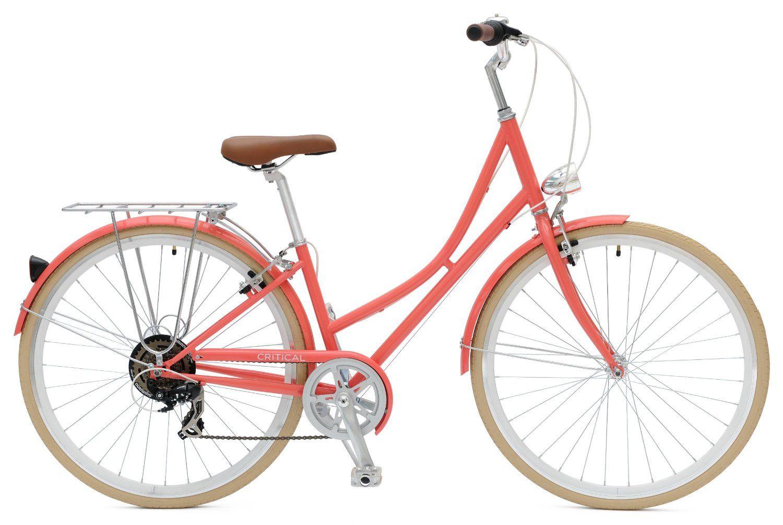 Critical Cycles Dutch Style City Bike Seven Speed Hybrid Urban