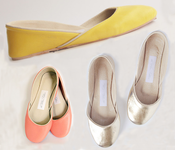 Butter Soft Leather Ballet Flats - all