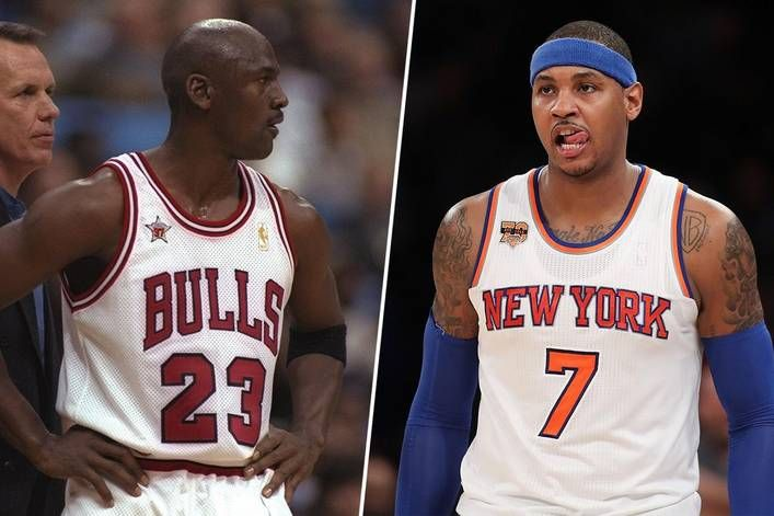 12fc9ccdeea Best 1-on-1 NBA player ever  Michael Jordan or Carmelo Anthony ...
