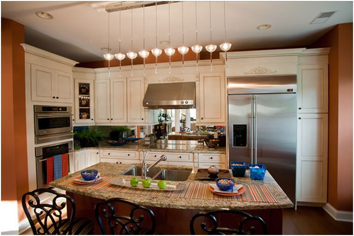 open concept kitchen living room designs | Cold Spring Show House Kitchen Designed by Bill Miller Shared by this ...
