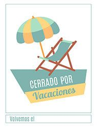 Cartel listo para imprimir de cerrado por vacaciones verano letrero cerrado por vacaciones thecheapjerseys Images