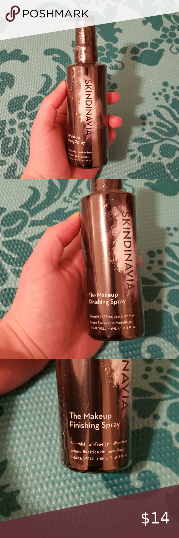 Skindinavia The Makeup Finishing Spray New in 2020