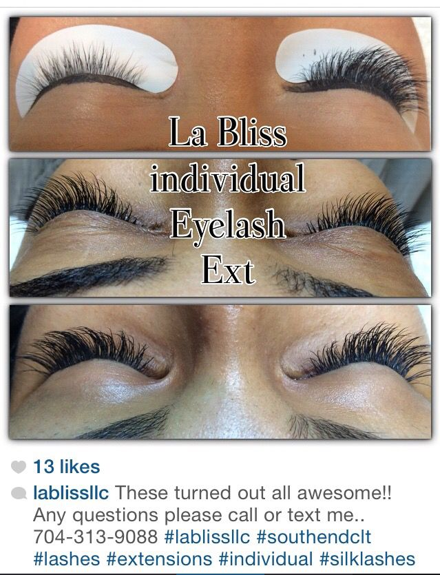 Before And After Of The Classic Lash Extensions Individual Eyelashes Silk Lashes Lashes
