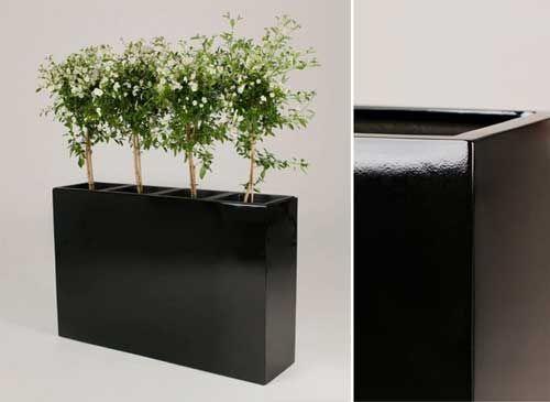 Kompromisslos Elegant Neue Blumenkubel Und Raumteiler Aus