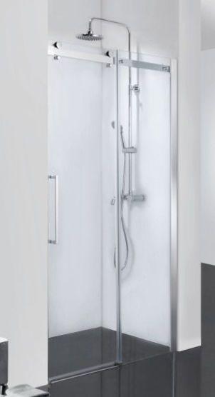 New 1250 1300mm Frameless Wall To Wall Shower Screen Safety Glass Sliding Door Shower Screen Sliding Doors Sliding Glass Door