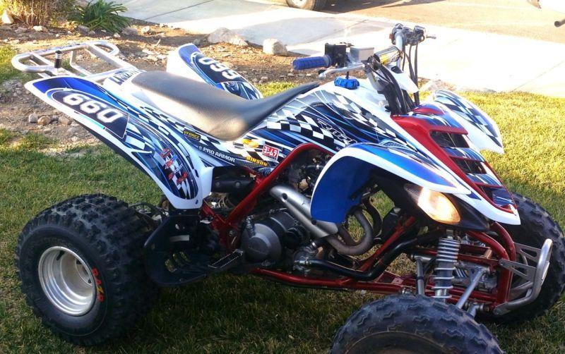 Details about Raptor 660 graphics Yamaha 660R ATV custom