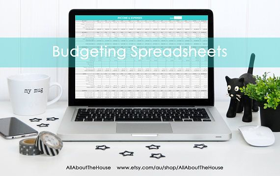 Personal budgeting excel spreadsheets income expenses tracking - budgeting in excel spreadsheet