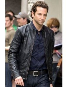 Bradley Cooper Cool Leather Jacket #celebrityleatherjacket http ...