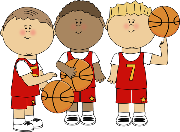 Boy Basketball Players Clip Art Boy Basketball Players Image Cartoon Clip Art Basketball Theme Clip Art