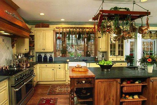 Vintage Home Kitchen Design Tips For the Home Pinterest