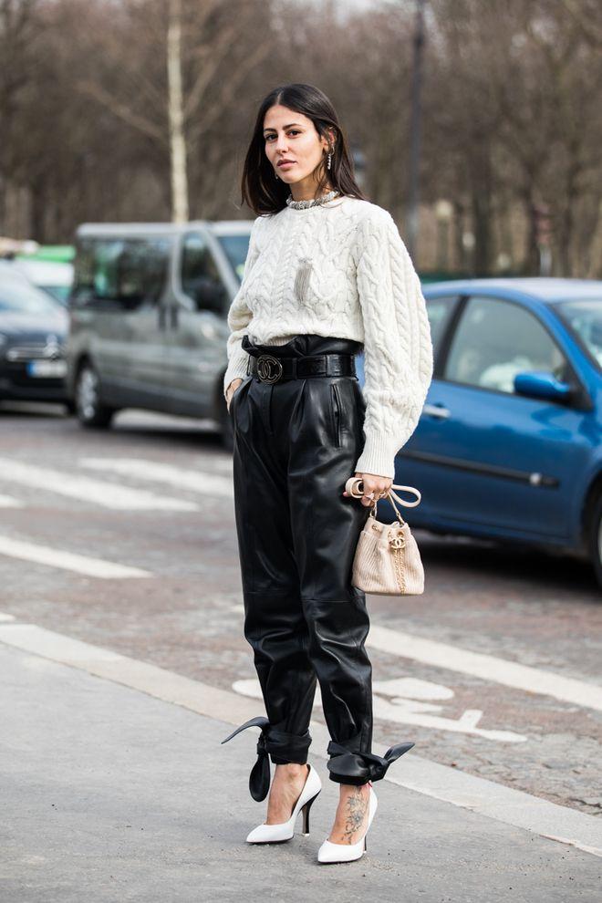 Street style à la Fashion Week automne-hiver 2018-2019 de ...