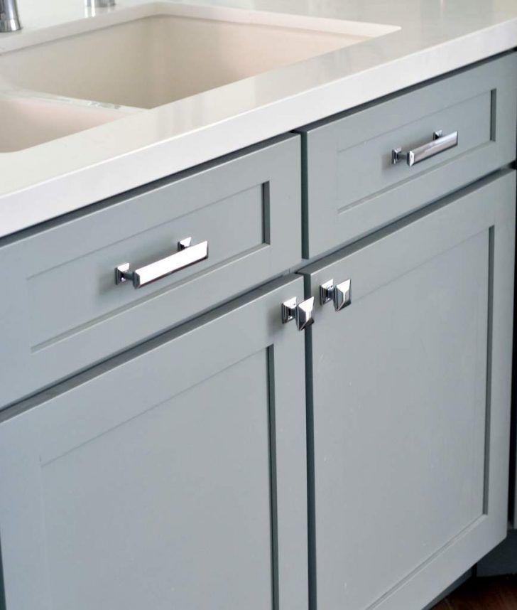 Permalink To Brushed Nickel Kitchen Cabinet Hardware Dapur Modern Dapur Modern