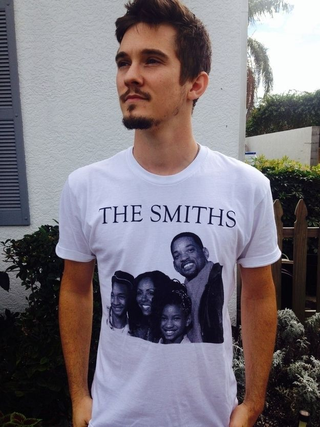 WILL SMITH POSTER COOL DESIGNER COOL SHORT SLEEVE UNISEX BLACK T-SHIRT